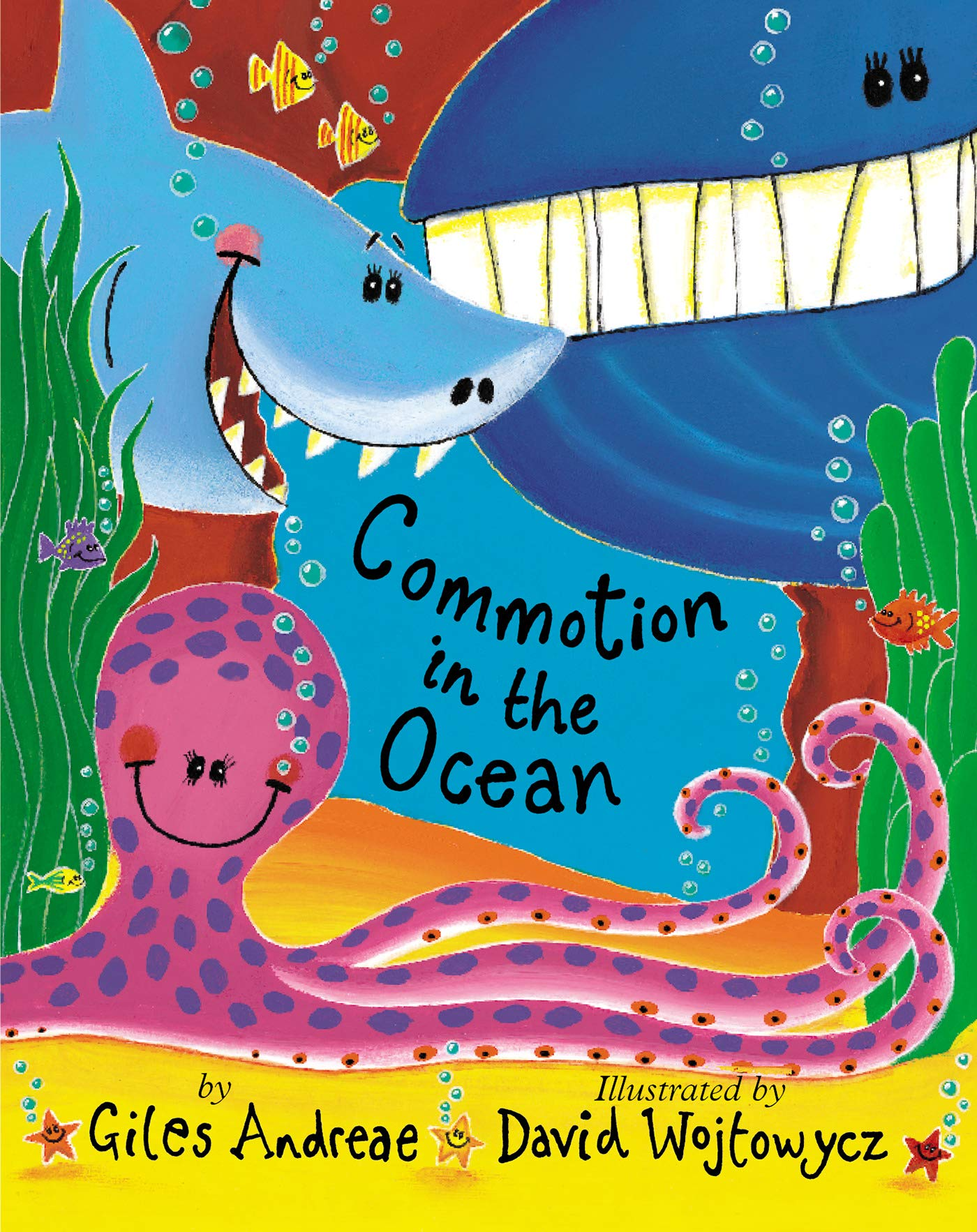 Commotion in the Ocean Book Cover