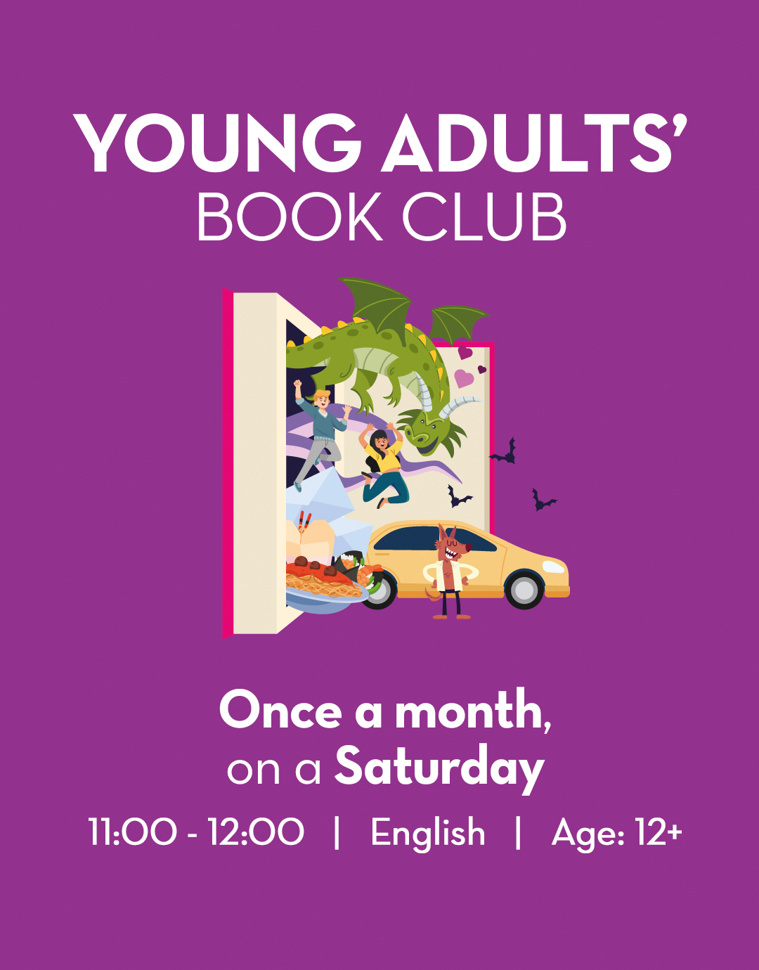 Emirates Literature Foundation Young Adult Book Club Details